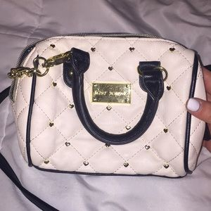 betsy johnson crossbody purse